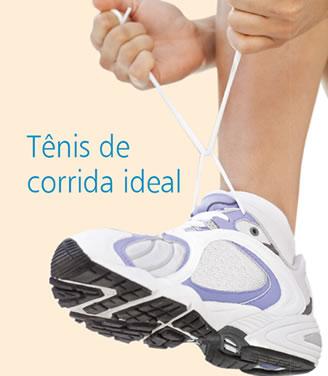 Imagem do Tênis de corrida ideal