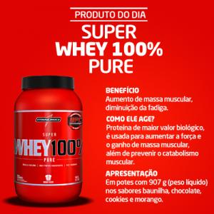 Imagem do Super Whey 100 % Pure Integralmedica