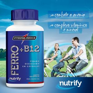 imagem do Ferro B12 - Nutrify da Integralmédica
