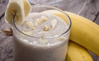 Vitamina Banana com Whey Protein