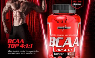 Bcaa top 4-1-1 integralmedica