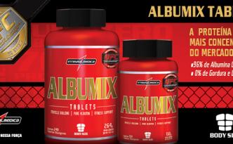 Imagem do Novo Albumix Tablets da Integralmedica